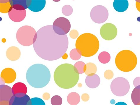 Colorful Circles On White Powerpoint Templates Abstract Colourful Powerpoint Backgrounds