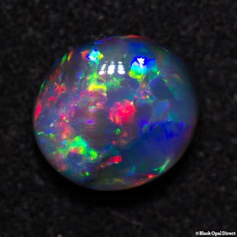 3 1 Ct Black Opal Hq 0 78 ct gem black opal 7x6x3mm black opal direct