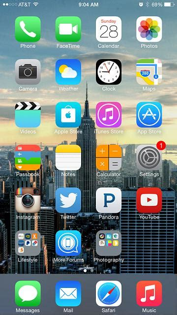 post your home screen of your iphone 6 plus here iphone