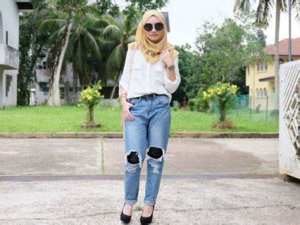 Baju Cewek Pakaian Wanita Kemeja Biru Muda Tangan Cut Out Clo464 guide lengkap memilih dan memadupadankan celana