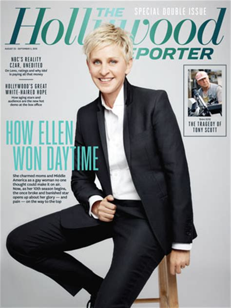 Degeneres On The Cover Of W by 图片 Degeneres On 吧 百度贴吧