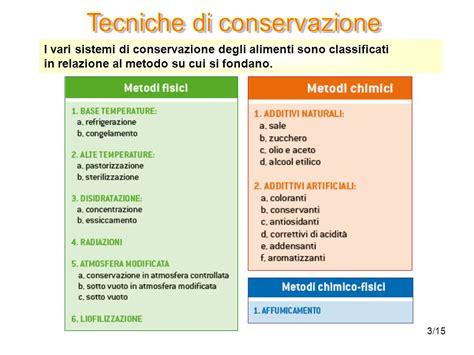 conservazione alimenti ppt tecniche di conservazione ppt scaricare
