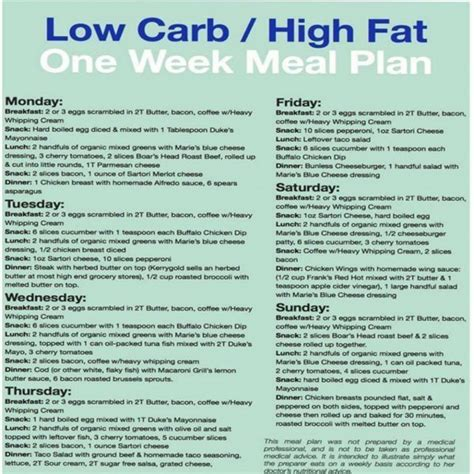 healthy fats low carb diet best low carb high one week meal plan