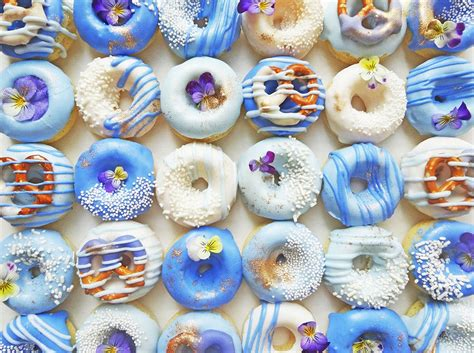 how to make ombre donuts that are insanely instagram able