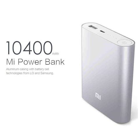 Powerbank Xiaomi 10400 Original original xiaomi mi power bank 10 400 mah neotron gadgets