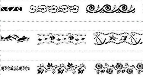 dibujos cenefas cenefas infantiles para colorear imagui