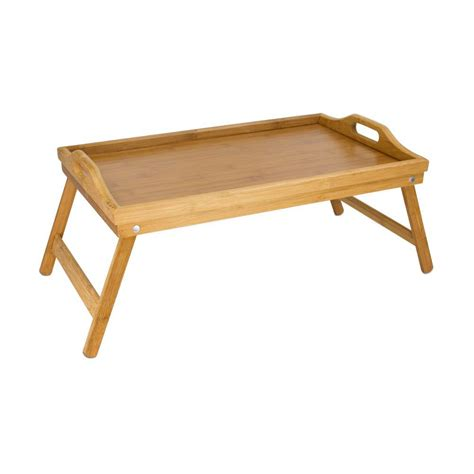 bed table tray home basics bamboo bed tray bt01014 the home depot