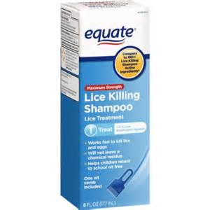 equate lice shoo equate treatment lice killing shoo