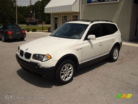 2004 bmw x3 change 2004 alpine white bmw x3 2 5i 41083 gtcarlot car