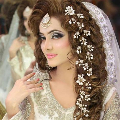 bridal hairstyles new latest pakistani bridal hairstyles for wedding day 2016