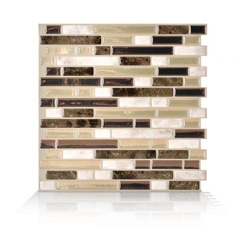 Smart Tiles Kitchen Backsplash Bellagio Bello Peel And Stick Tile Backsplash