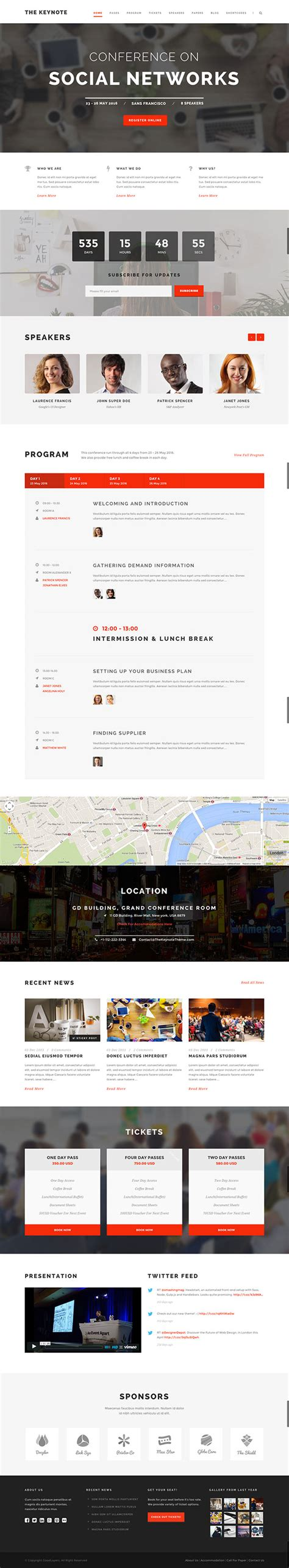 theme the keynote 25 best events wordpress themes 2015 athemes