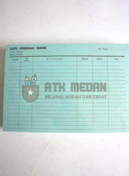 Continous Form Kertas Komputer 3 Ply Bagi 4 Wartel Indopaper Harga Kartu Stok Kartu Persediaan Barang Kecil Di Medan