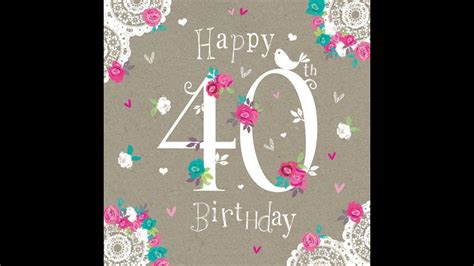 happy 40th birthday images reena hare 40th birthday messages