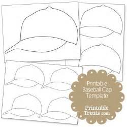 baseball template printable printable baseball cap template printable treats