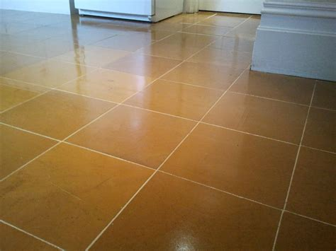 Slate Floor Shine by Work History West Surrey Tile Doctor