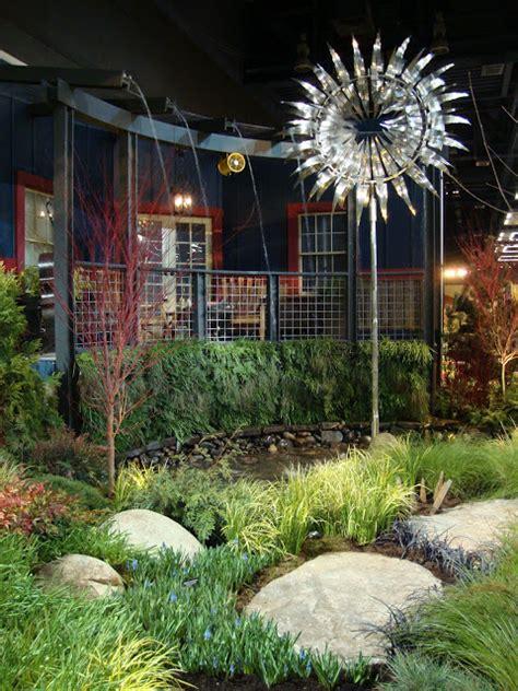diy metal garden danger garden the northwest flower garden show 2012