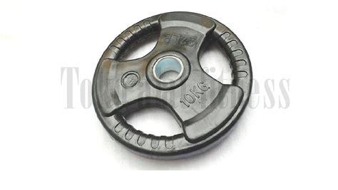 Dumbell Besi 10 Kg rubber plate 10kg toko alat fitness