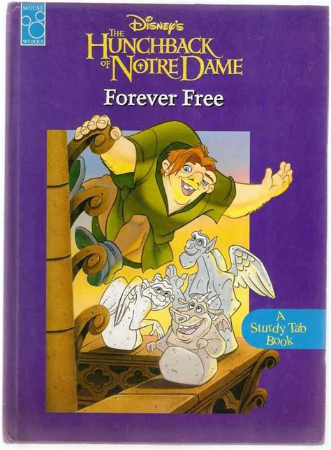 forever works books disney s the hunchback of notre dame forever free mouse