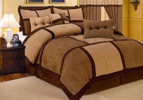 microsuede comforter set 7 piece microsuede comforter sets