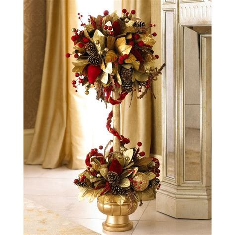 quot crimson christmas quot topiary my favorite christmas things