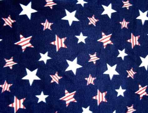 vv printable fabric patriotic stars on navy fleece fabric