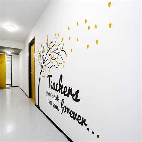 Decals For Home Decor by Best 25 Wall Schools Ideas On Decoration