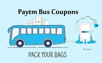 paytm app bus coupons today