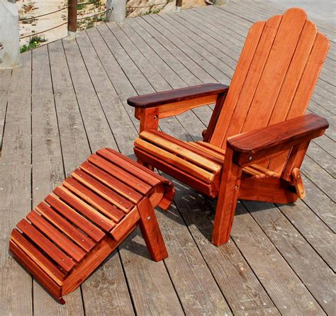 adirondack chairs with retractable ottoman wooden folding adirondack chair portable wood chair