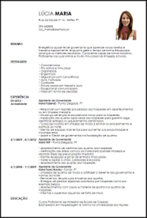 Modelo De Curriculum Vitae Para Recepcionista De Hotel Modelo Curriculum Vitae Ajudante De Governanta Livecareer