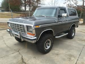 Ford 460 For Sale 1978 Ford Bronco In Excellent Condition 460 Big Block 4x4