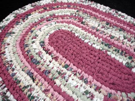 Toothbrush Rag Rug by Handcrafted Toothbrush Rag Rug