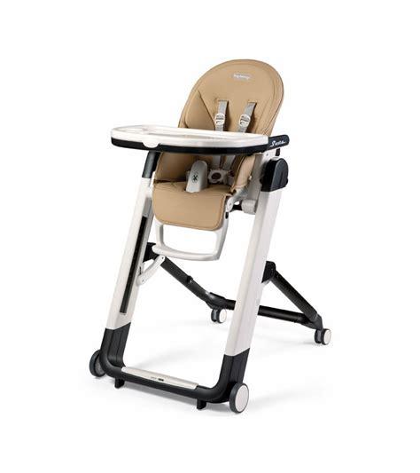 High Chairs - peg perego siesta high chair noce beige