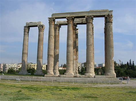 temple of olympian zeus athens illustration ancient history encyclopedia
