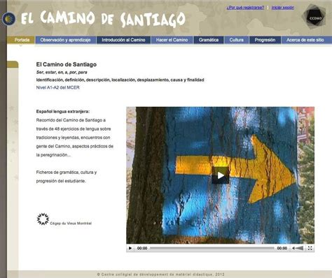 el camino de santiago en espanol el camino de santiago ccdmd
