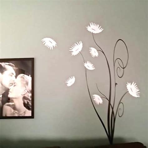 trendy wall designs trendy flower tree wall decal trendy wall designs
