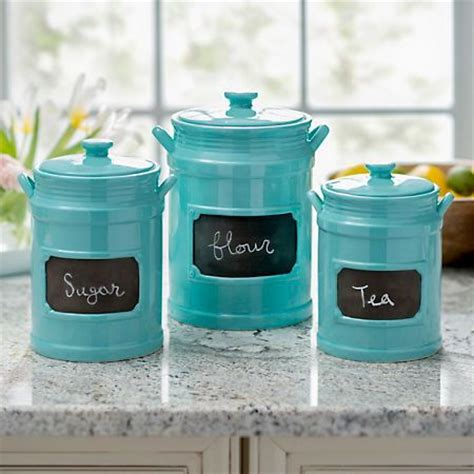 turquoise kitchen canisters 17 best ideas about kitchen canisters on pinterest