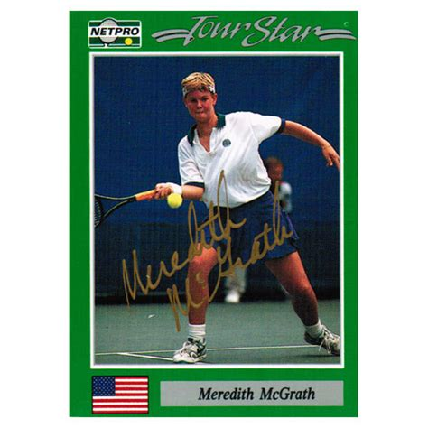 Tennis Express Gift Card - meredith mcgrath signed women s