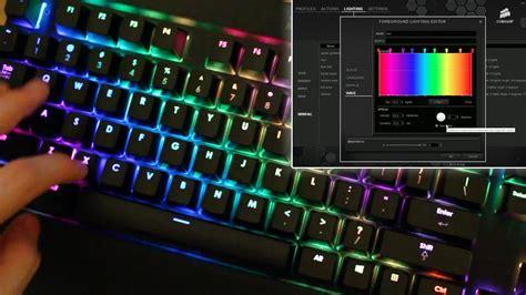 Gaming Keyboard Metal Multicolor Backlight Led Tx50 Black corsair gaming k70 rgb keyboard rainbow tutorial