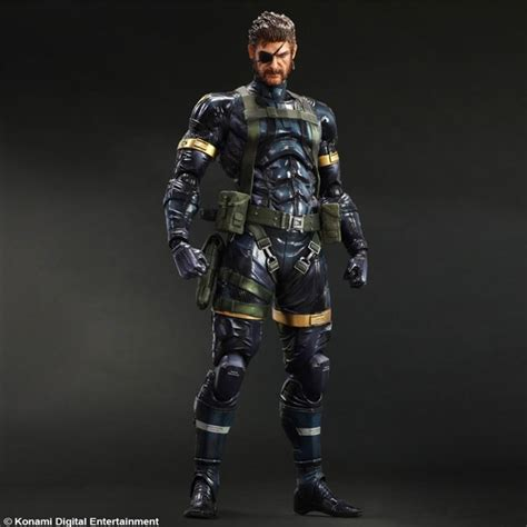 mgs 5 figures metal gear solid 5 ground zeroes play arts snake