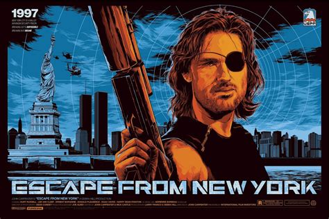 Poster Escape From New York 30x40cm mondo to release escape from new york print by ken