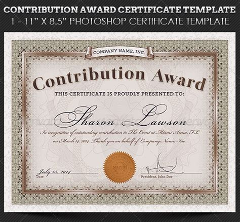 awards and certificate templates free and premium certificate template 56pixels
