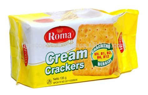 Roma Malkist Crackers 135 Gram roma crackers pack 135g view roma cracker