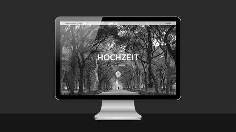 Hochzeit Website catfish creative corporate design webdesign print