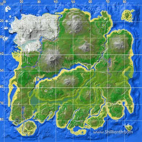 fortnite island name ark map no name with grid shillianth