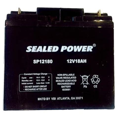 pramac 12 volt 18 ah rechargeable sealed lead acid