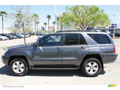 Toyota 4runner Limited 2005 Galactic Gray Mica 2005 Toyota 4runner Limited Exterior