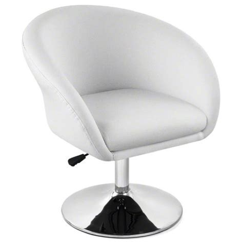 white swivel chair white leather swivel chair