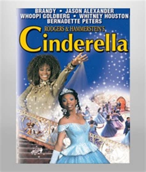 cinderella film whoopi goldberg whitney houston starred as the fairy godmother in rogers