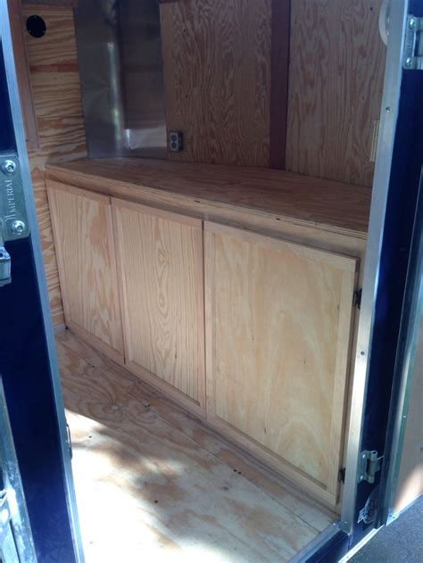 lightweight cabinets for rv custom cabinets for cargo trailers cabinets matttroy